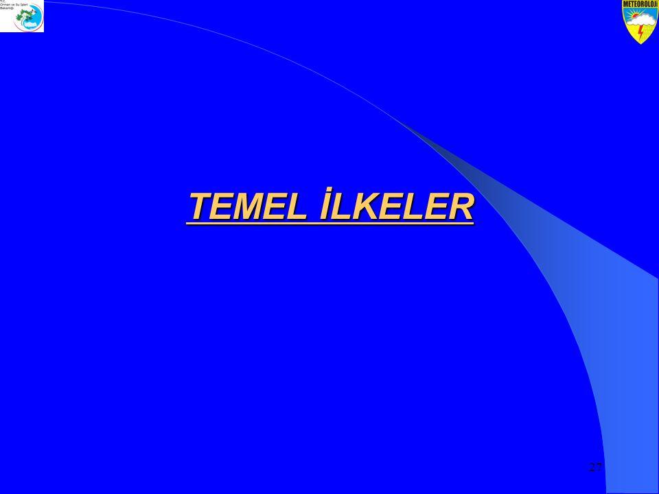 27 TEMEL İLKELER