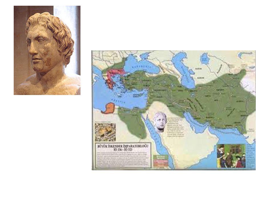 Bir kaç yıl içinde İskenderiye gibi 70 şehir kurulması.