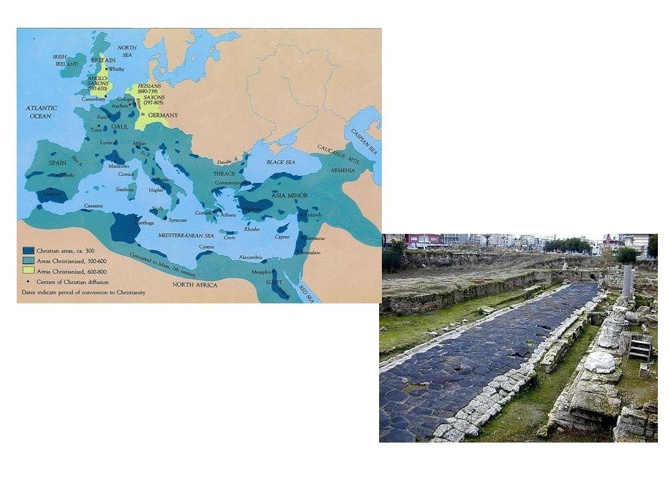 Roma ile Doğu uygarlık birikimleri, Avrupanın içlerine kadar yayıldı.
