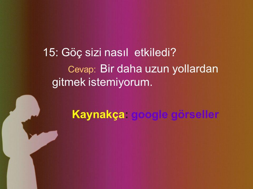 12: İzmir ile Adapazarı'nın farklılıkları nelerdir.