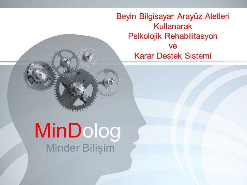 Beyin Bilgisayar Arayüz Aletleri Kullanarak Psikolojik Rehabilitasyon ve Karar Destek Sistemi Minder Bilişim MinDolog