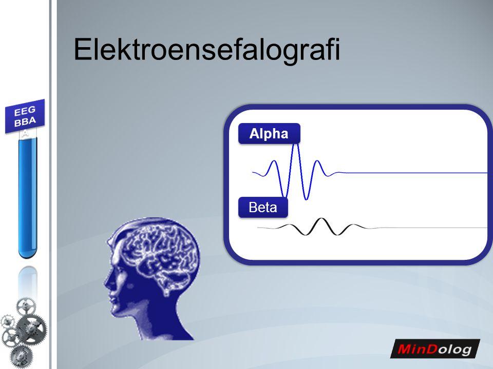 Elektroensefalografi Alpha Beta