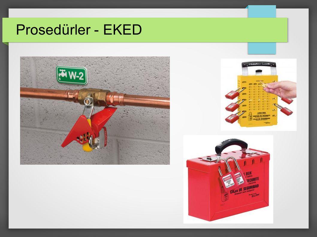 Prosedürler - EKED