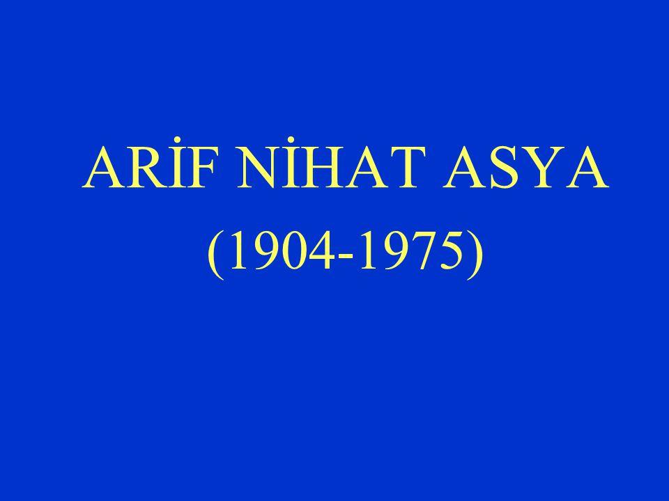 Bütün Eserleri (1975-1977) Rubaiyyat-ı Ârif (rubailer, 1956) Kıbrıs Rubaileri (rubailer, 1964, 1967) Nisan (rubailer, 1964) Kova Burcu (rubailer, 1967) Avrupa'dan Rubailer (1969) Şiirler (Ahmet Kabaklı derledi, 1971)