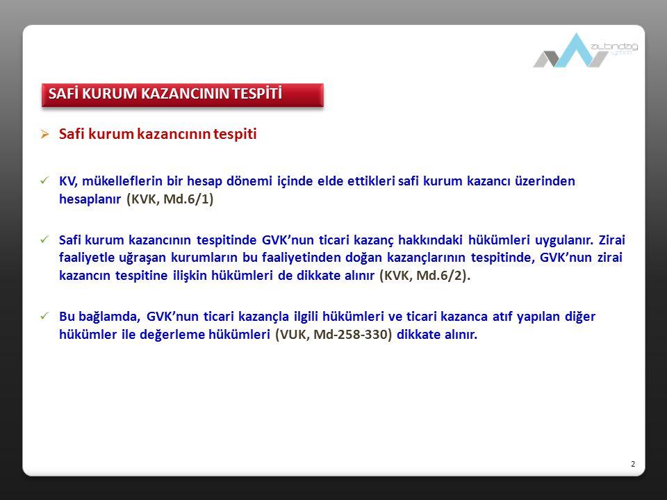  Hazine zararının araştırılması (KVK, Md.13/7) Tam mükellef kurumlar ile yabancı kurumların Türkiye deki işyeri veya daimi temsilcilerinin aralarında ilişkili kişi kapsamında gerçekleştirdikleri yurt içindeki işlemler nedeniyle kazancın örtülü olarak dağıtıldığının kabulü Hazine zararının doğması şartına bağlıdır (KVK, Md.13/7, 5766 sayılı Yasa'nın 21'inci maddesiyle eklenen fıkra).