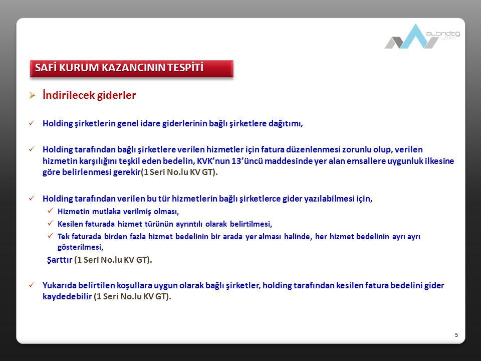  KEYK'in kâr dağıtması halinde vergileme KEYK kazancı olarak Türkiye'de vergilendirilmiş kazancın yurt dışındaki kurum tarafından sonradan dağıtılması halinde, elde edilen kâr paylarının daha önce Türkiye'de vergilendirilmiş kısmı ayrıca vergilendirilmez (KVK, Md.7/5), Ancak, daha sonraki yıllarda, KEYK'in Türkiye'de vergiye tabi tutulmuş kazancından daha fazla kâr payı dağıtılması halinde, aşan kısım KV'ne tabi tutulur (KVK, Md.7/5, 1 Seri No.lu KV GT).