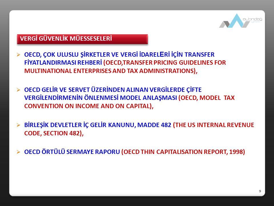  Kapsam ve amaç Belli şartlarla yurt dışı iştiraklere yatırım yapan mükelleflere bu iştiraklerinden fiilen kâr payı dağıtılmasa bile vergi uygulamaları açısından kâr payı dağıtılmış olduğu kabul edilmekte ve bu suretle bu iştiraklerin kazançlarının Türkiye'de kurumlar vergisine tabi tutulması sağlanmaktadır (KVK, Md.7).