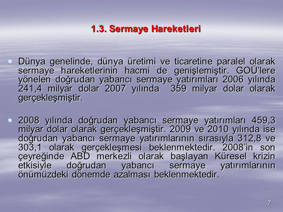 18 Tablo 2.3: İşsizlik Oranları (2007-2009 Şubat)