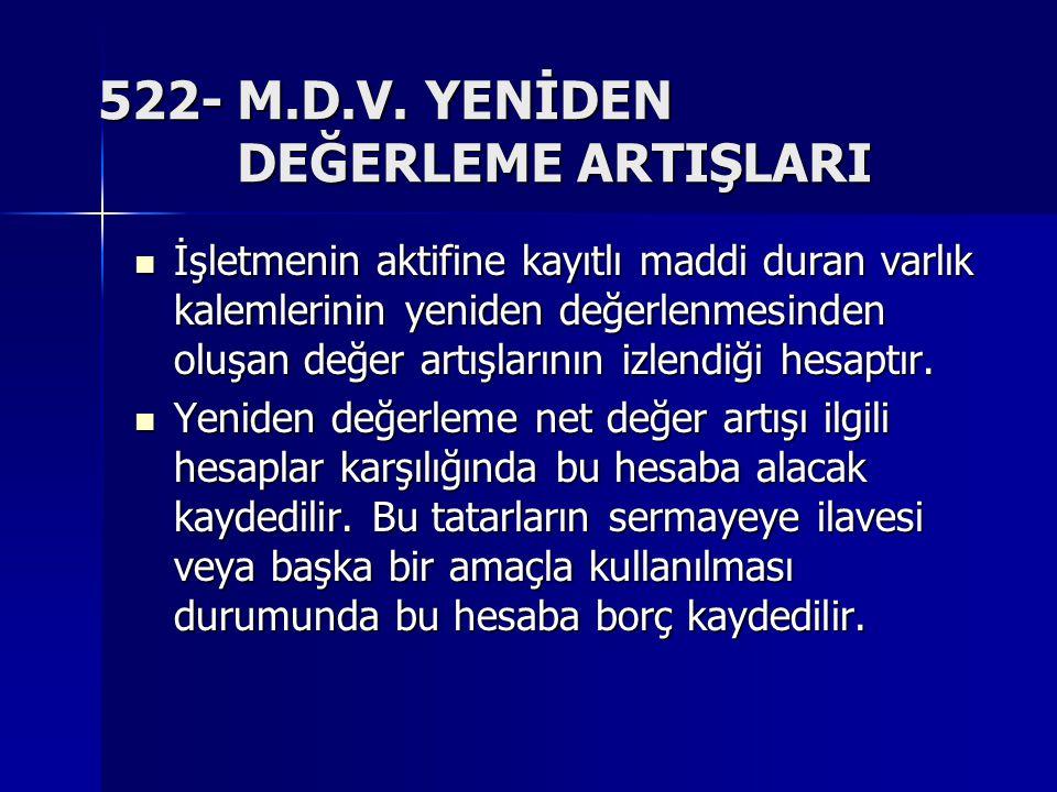 522- M.D.V.