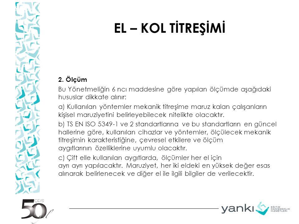 EL – KOL TİTREŞİMİ 2.