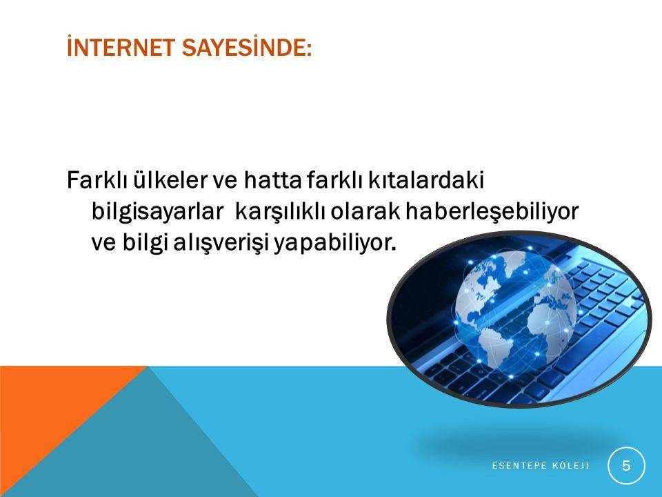 Bir web sitesine bağlanmak için; Kullandığın internet tarayıcının adres çubuğuna o sitenin web adresini yazıp Enter tuşuna basarsın.