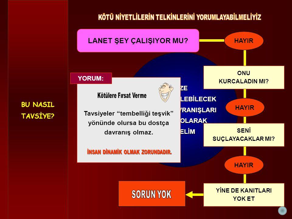 DİNAMİZM ÖLDÜRÜLMEMELİ LANET ŞEY ÇALIŞIYOR MU.