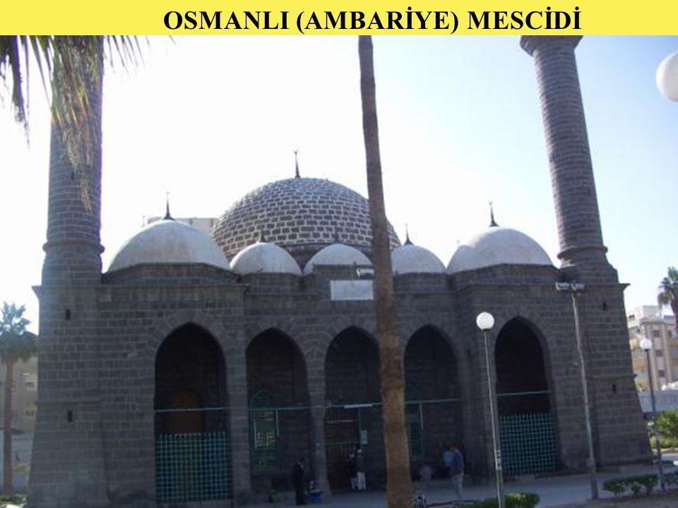 23 OSMANLI (AMBARİYE) MESCİDİ