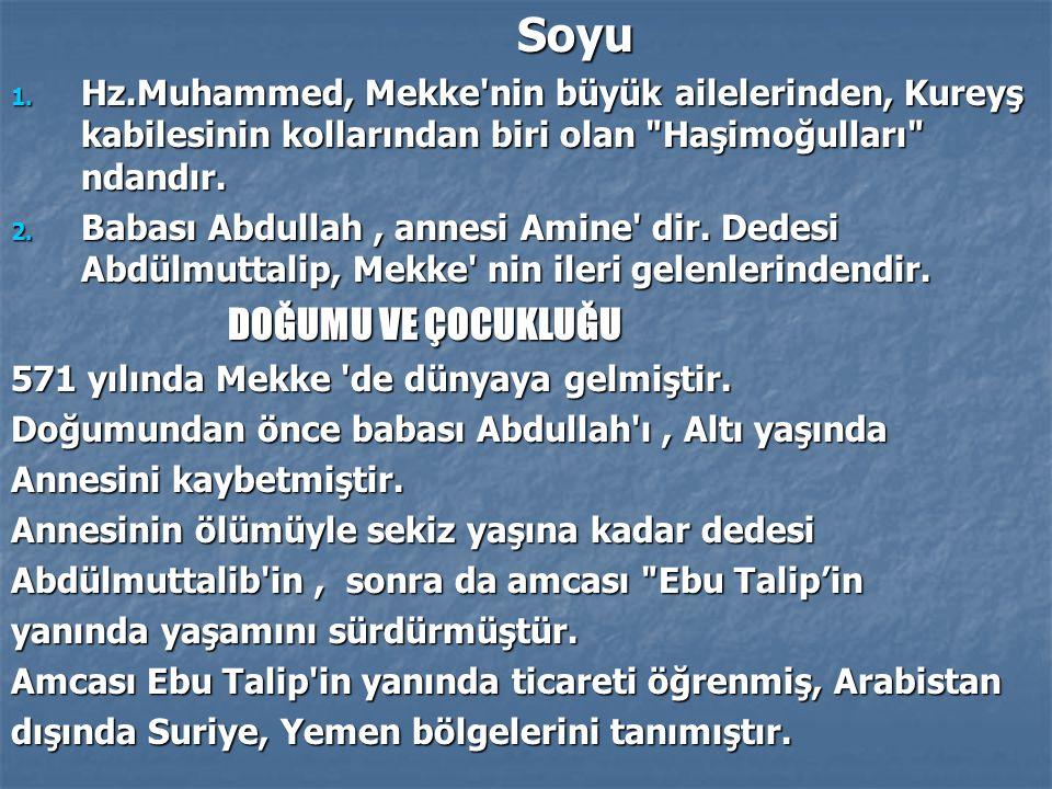 İLK VAHYİN GELİŞİ İLK VAHYİN GELİŞİ Tek bir tanrı, yaratıcı olduğunu düşünenHz.Muhammed, zaman zaman Mekke yakınlarındaki Hira Mağarasına giderek, burada düşünceleriyle başbaşa kalmıştır.