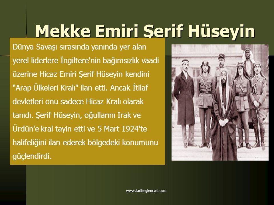 Başlangıçtan beri bölge liderliği konusunda rekabet eden Necd Emiri Abdülaziz İbni Suud, Şerif Hüseyin e savaş açtı.