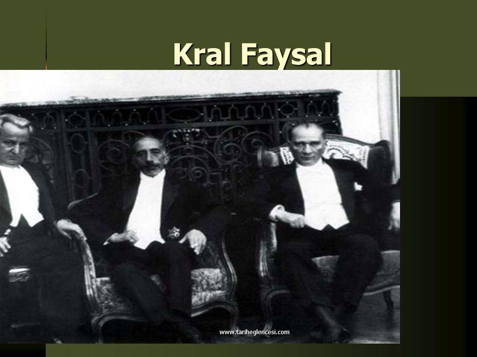 Kral Faysal www.tariheglencesi.com
