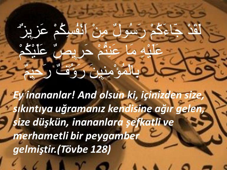 Ashabı Güzin Hz.peygamber efendimiz (s.a.s)'i anladılar.