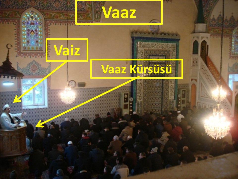 Vaiz Vaaz Vaaz Kürsüsü