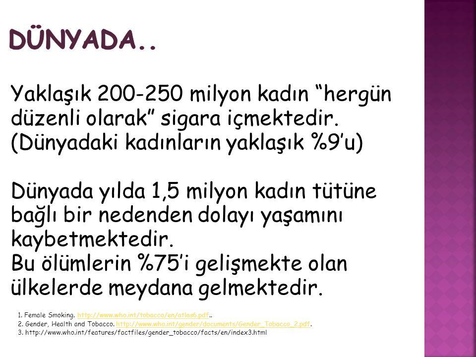 ULUSAL… 4207 sayılı Tütün Ürünlerinin Zararlarının Önlenmesi ve Kontrolü Hakkında Kanun …