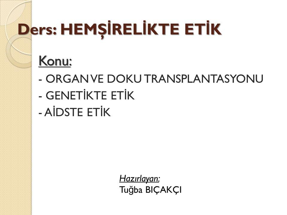 Organ sa ğ lamada denenmekte olan bir başka yöntem de xenotransplantasyondur.