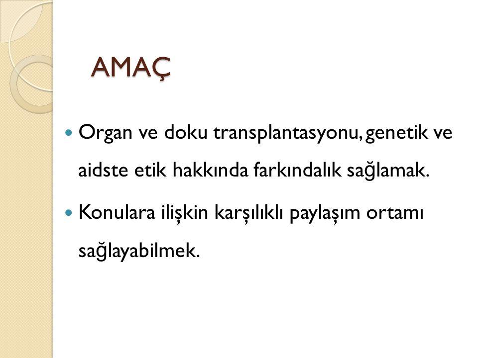 Türkiye de ve bir çok ülkedeki genetik uzmanları arasında genetik danışma ve pretanal tanıda karşılaşılan etik sorunlarla ilgili bir anketin de ğ erlendirilmesi sonucu etik sorunların çözülmesinde bazı öneriler: 1.