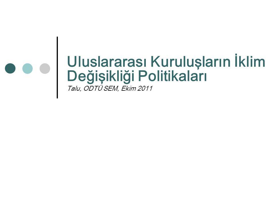 AB Müktesebatının Üstlenilmesine İlşikin Türkiye Ulusal Programı – Azaltım/Uyum Rekabet Politikası Çevre İşletmeler ve Sanayi Politikası