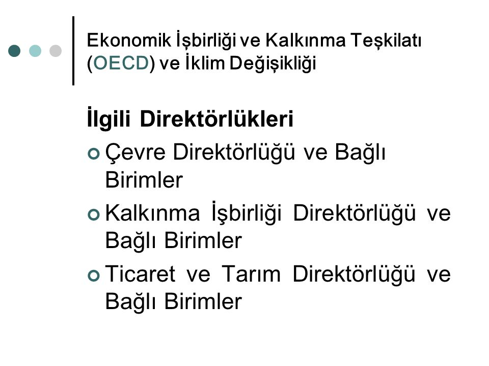 Türkiye'nin önemlileri Su meselesi, iklim değişikliği uyum politikaları kapsamında Su Çerçeve Direktifinin Türk mevzuatına aktarılması noktasında çok önemli olup, çevre faslında da 6 kapanış kriterinden biri olarak belirtilmiştir.