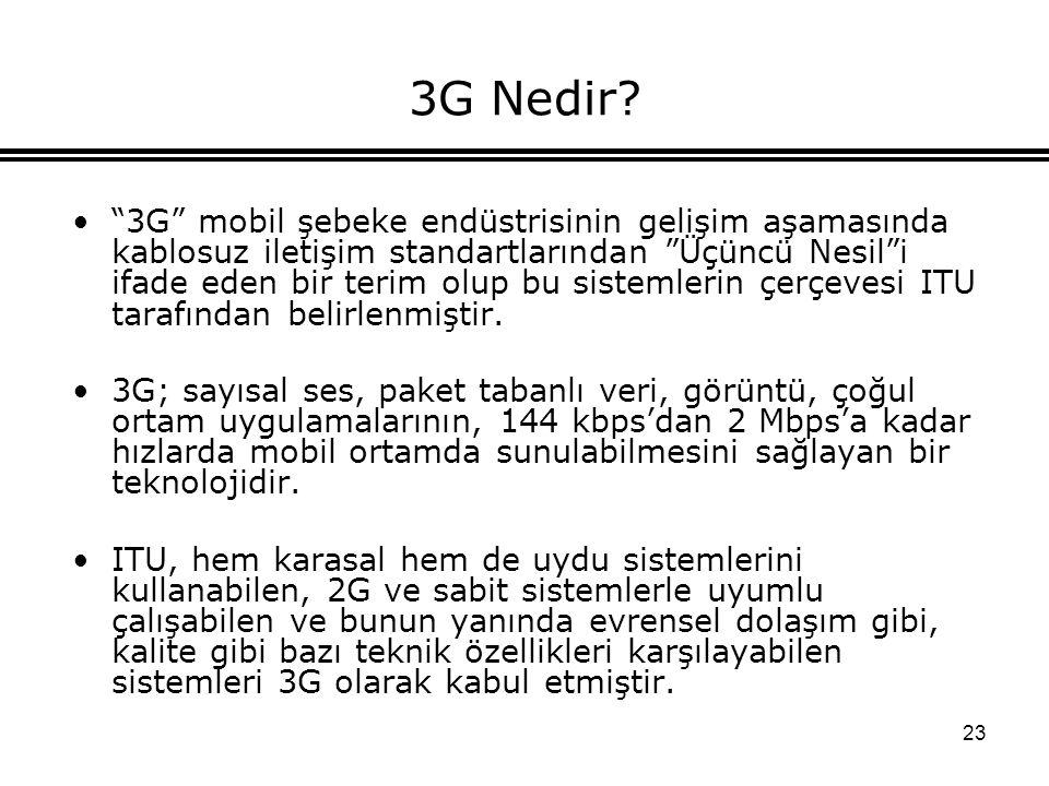 23 3G Nedir.