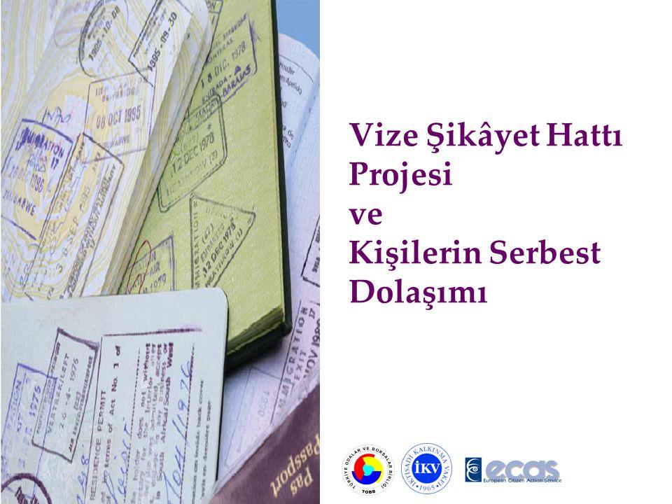 Vize Şikâyet Hattı'na gelen çağrılar şu konular üzerinde yoğunlaşmaktadır: 1- Vize talebinin reddedilmesi/ret gerekçesinin bildirilmemesi veya ret gerekçesinin tatmin edici olmaması; 2- Vize başvurusunda istenilen belgelerin niceliği/niteliği; 3- Vize başvuru ücreti (vize ücreti/aracı kurum ücreti ve diğer ücretler); 4- Konsolosluk personelinin muamelesi/fiziki koşullara ilişkin şikâyetler; 5- Maddi/Manevi kayba ilişkin şikâyetler; 6- Vize talebi ve alınan vize arasındaki dengesizlikten kaynaklanan şikâyetler; 7- Vize genel şikâyetler; 8- Aile birleşmelerinde yaşanan sıkıntılar.