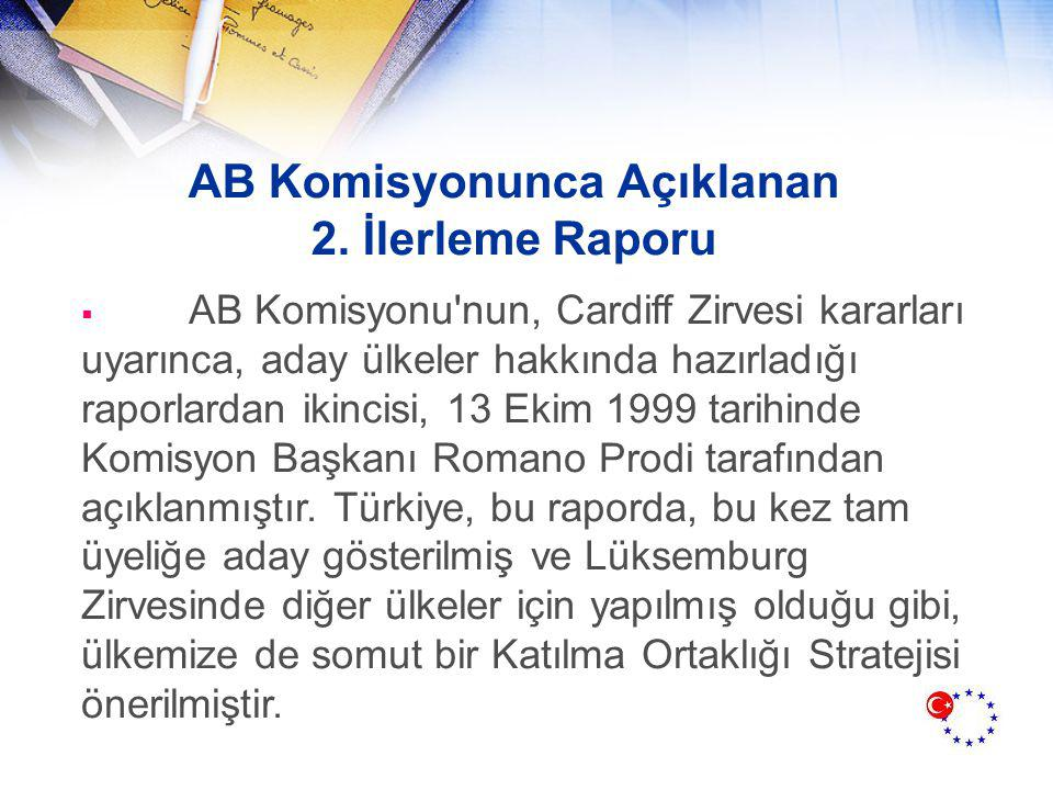 AB Komisyonunca Açıklanan 2.