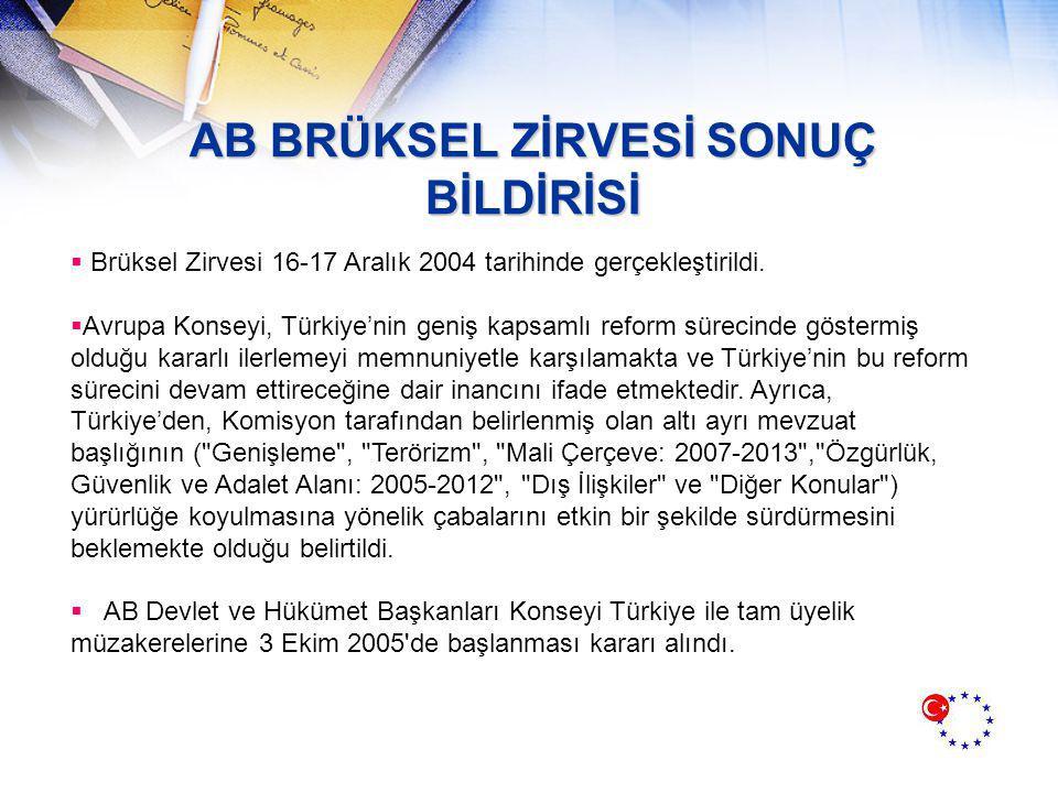 2005 YILI GELİŞMELERİ  7 Martta, AB-Türkiye Troyka toplantısı Ankara'da gerçekleşti.