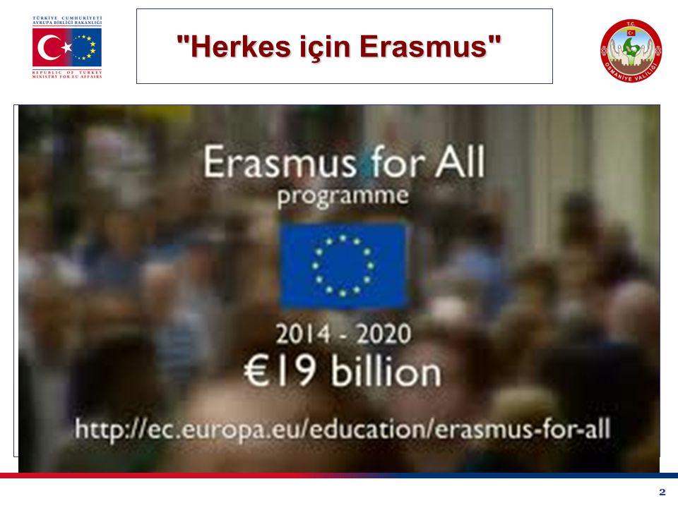 2 Herkes için Erasmus