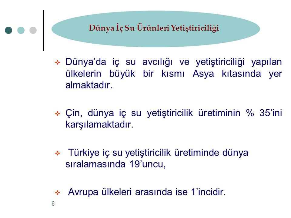27 Türkiye Su Ürünleri Dış Ticareti 2002-2007