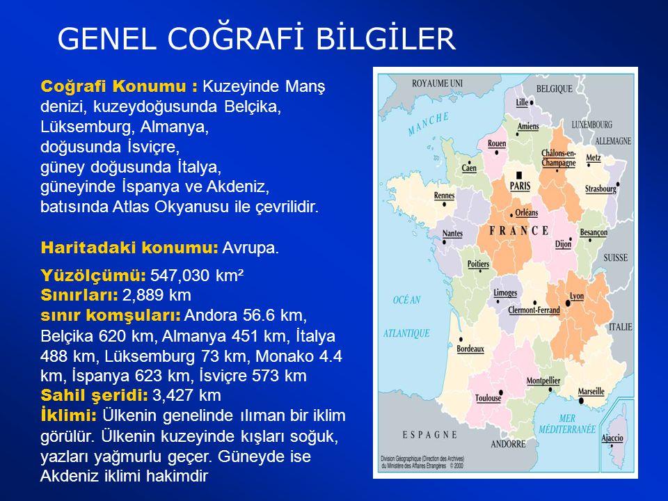TÜRKİYE FRANSA TİCARİ İLİŞKİLERİ  Türkiye'nin ihracatında ve ithalatında Fransa 5.