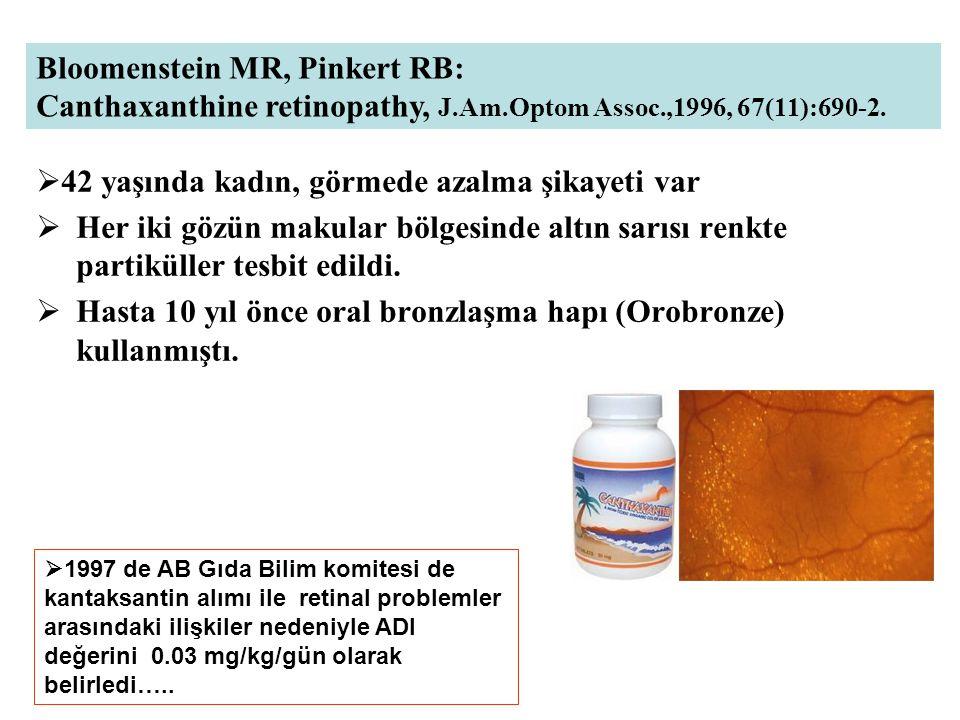 Güneş preparatlarına katılan bergamot yağı ya da 5-MOP da fotokarsinojenik potansiyeli var (deney hayvanları) 5-MOP içeren güneş preparatlarının saçsız farelerde kronik olarak aralıklarla UVA radyasyonu ile tümorojenik olduğu gösterildi.
