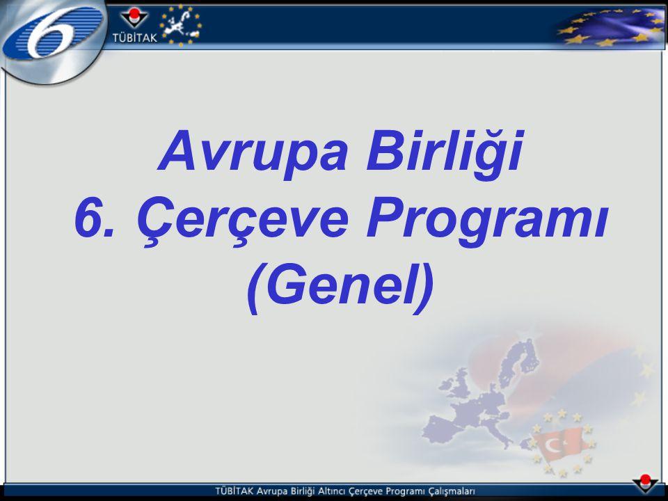 Avrupa Birliği 6. Çerçeve Programı (Genel)