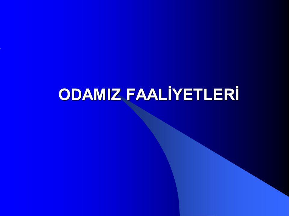 ODAMIZ FAALİYETLERİ