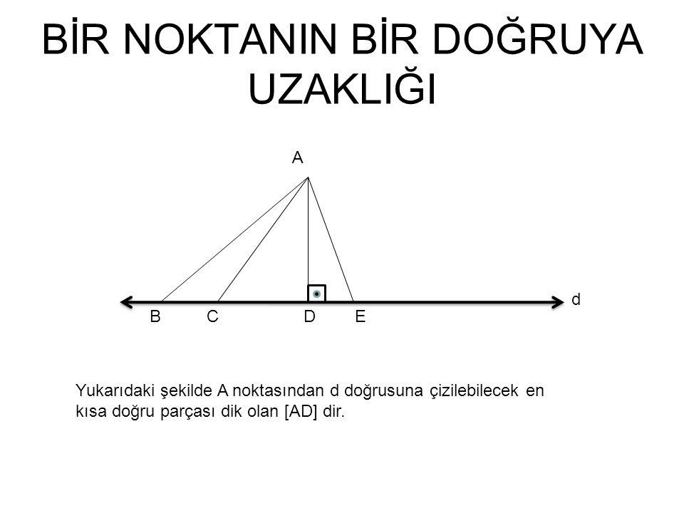 Aynı Düzlemde Üç Doğrunun Birbirine Göre Durumu Üçü paralel olabilir.