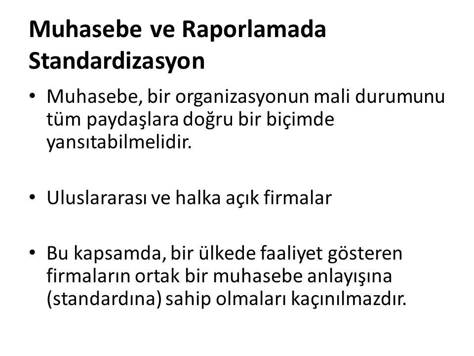 TMS/TFRS'lerin Uygulanması Konulu Çalışmalar Muhasebeden sorumlu yöneticilerin; Türkiye Finansal Raporlama Standartları konusunda yeterli bilgiye sahip olmadıkları ancak yararları konusunda olumlu görüşlere sahip oldukları, KOBİ'lere uygun farklı muhasebe standartlarının hazırlanması gerektiği düşüncesindedirler (Özdemir, 2007)