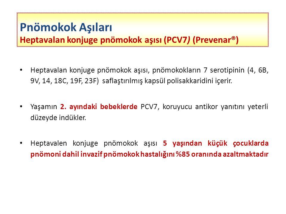Polisakkarit pnömokok aşısı (PPV23) (Pneumo23®) Pnömokokların 23 serotipinin saflaştırılmış kapsüler polisakkarid antijenlerini içerir.