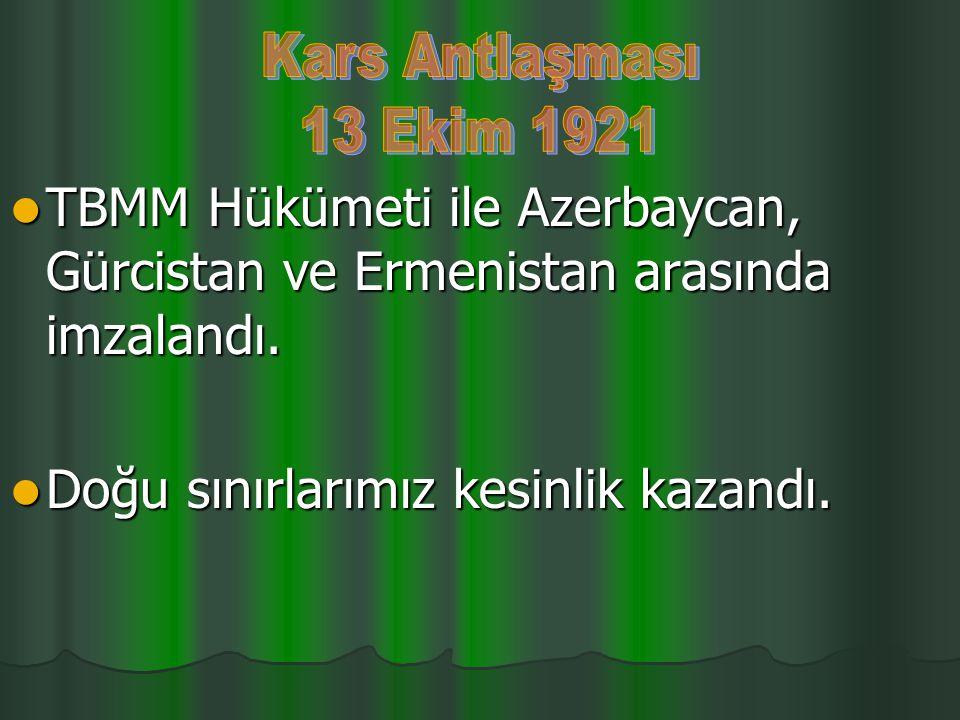 Fevzi Paşa komutasındaki Türk ordusu zafer kazandı. Fevzi Paşa komutasındaki Türk ordusu zafer kazandı. Türklerin geri çekilişleri sona erdi. Türkleri