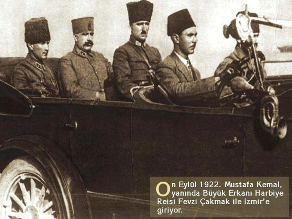 SONUÇLARI Türk ordusu büyük bir zafer kazandı. Türk ordusu büyük bir zafer kazandı. İtilaf Devletleri TBMM`ne şartsız ateşkes teklif etti. İtilaf Devl