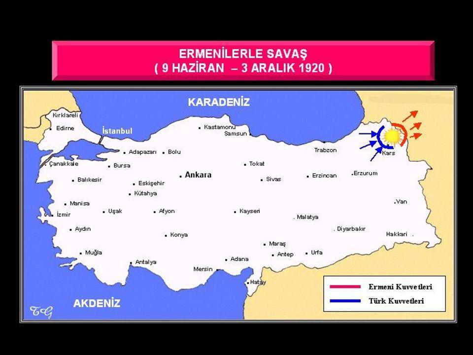 TBMM Hükümeti ile Azerbaycan, Gürcistan ve Ermenistan arasında imzalandı.