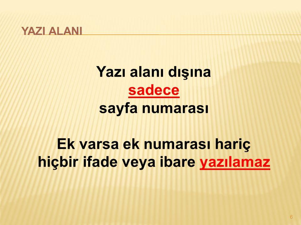37 İMZA ÖRNEK : (Yetkili Makam) (İmza) Kadir TOPBAŞ İstanbul Büyükşehir Belediye Başkanı ÖRNEK : (Yetki Devri Halinde) (İmza) Hayrettin GÜNGÖR Başkan a.