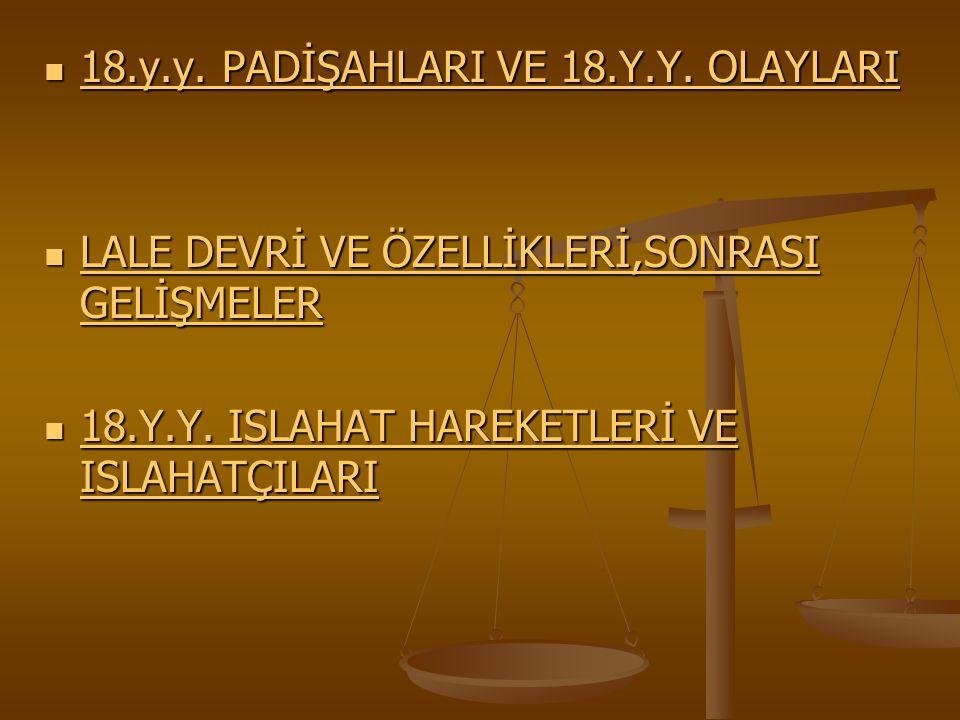 ÇÖZÜM:YENİÇERİ OCAĞININ KALDIRILMASI,3.
