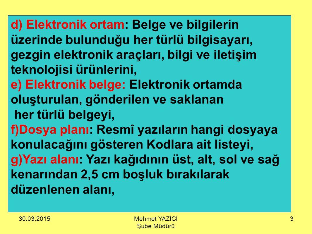30.03.201574 ÖRNEK-2 EKLER : 1- Yazı örneği (5 sayfa) 2- Yönetmelik (3 Adet) Ek adedi birden fazla ise