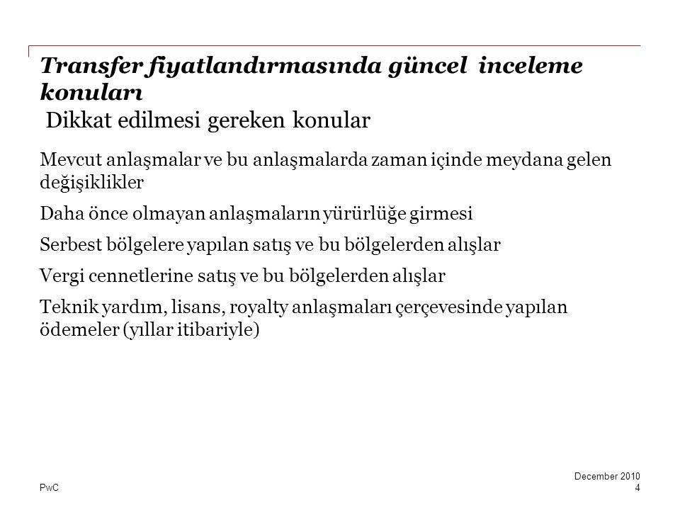 Mutlu ve huzurlu bir yıl diliyorum.www.vergiportali.com © [2010] PricewaterhouseCoopers Turkey.