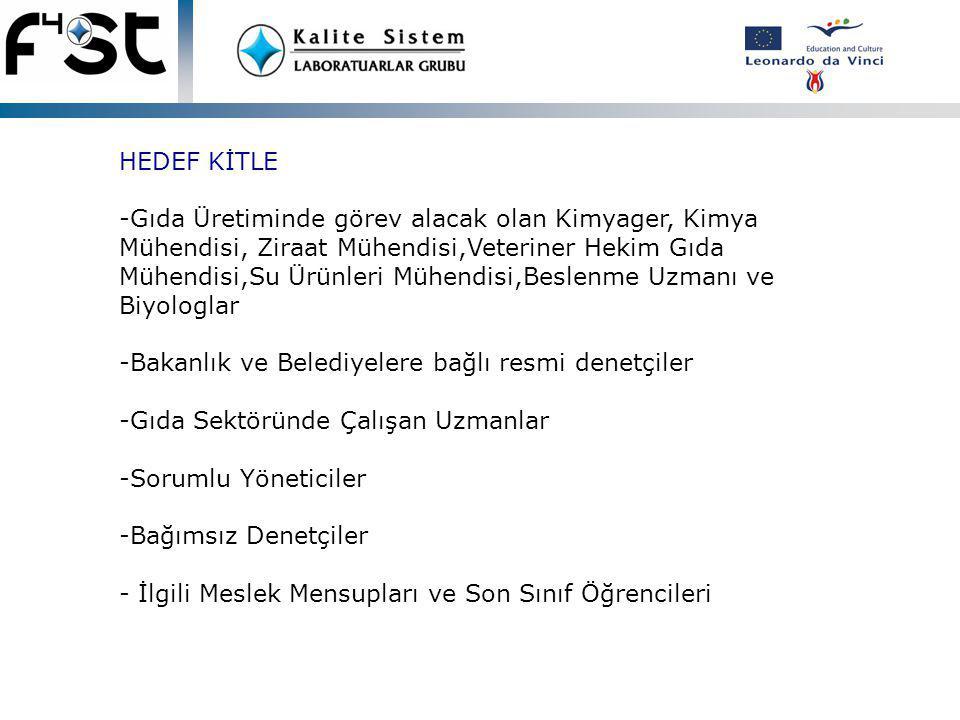 PİLOT PROJENİN HEDEFİ -Her ülkeden toplam 1500 katılımcının eğitilerek sertifikalandırılması Türkiye'nin 8 ilinde bilgilendirme seminerlerinin düzenlenmesi ÜRÜNÜN HEDEFİ Programın üniversite eğitim müfredatına katılması Proje partnerlerinin, nihai ürünü yerel dilde pazarlama ve satışını üstlenerek programın güncel ve sürdürülebilirliğinin sağlanması