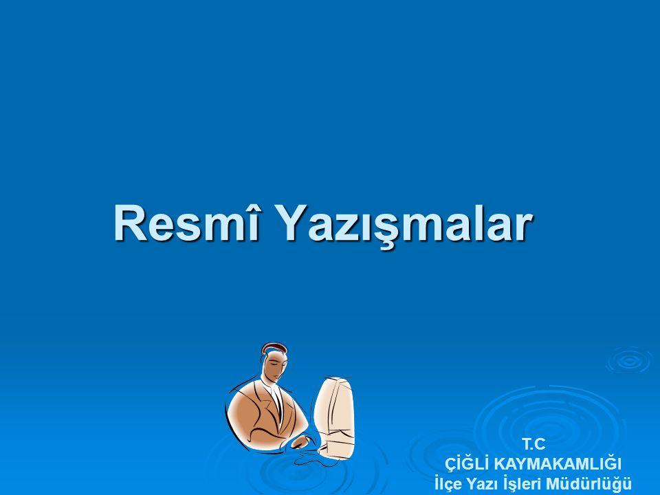 ÖRNEK T.C.GİZLİ İVEDİ T.C.