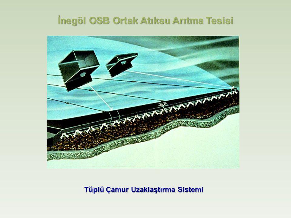 Tüplü Çamur Uzaklaştırma Sistemi İnegöl OSB Ortak Atıksu Arıtma Tesisi